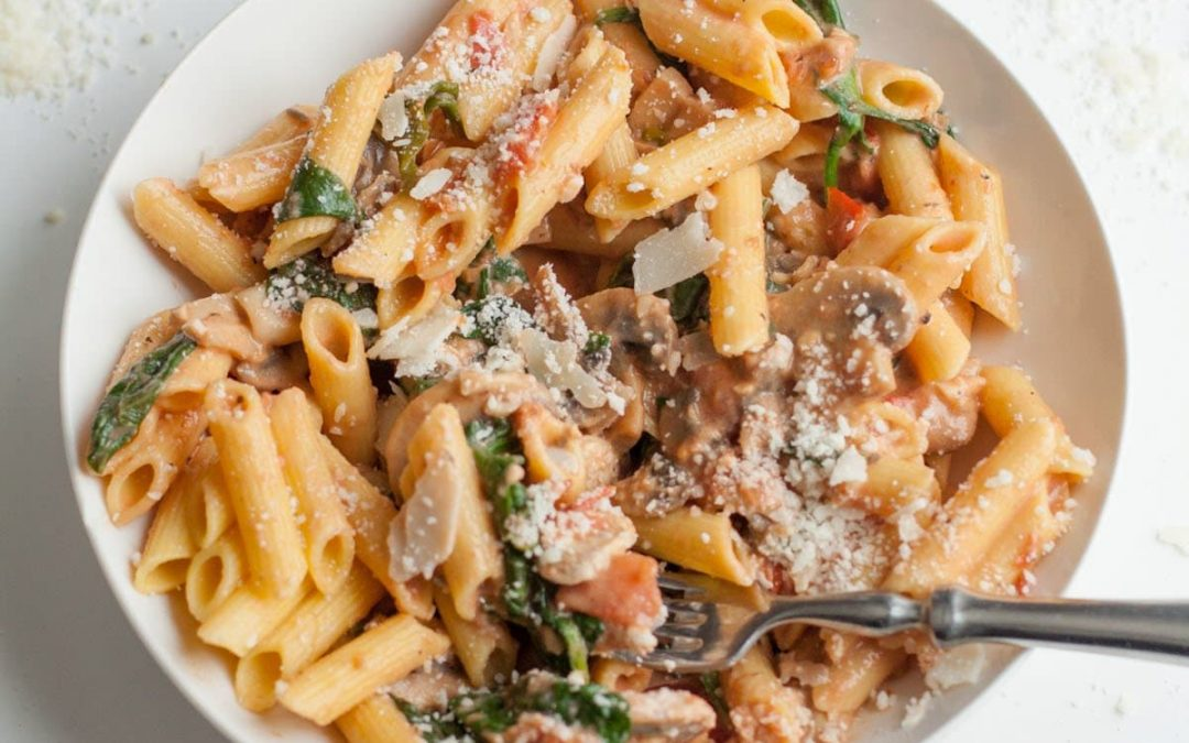 Food for Fuel: Penne Rosa